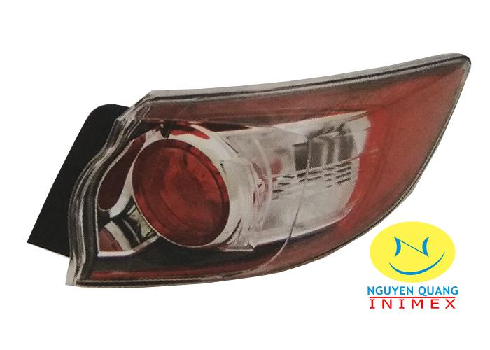 Đèn Lái Ngoài Mazda3 2010-2012 5 Cửa