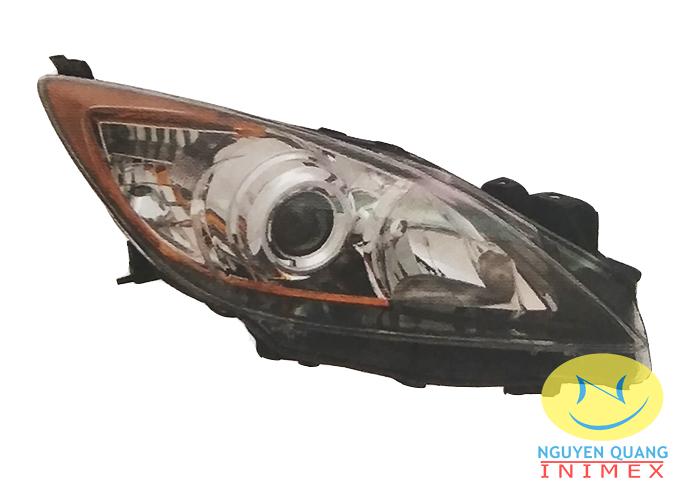 Đèn Pha Mazda3 2010-2012 4 Cửa & 5 Cửa
