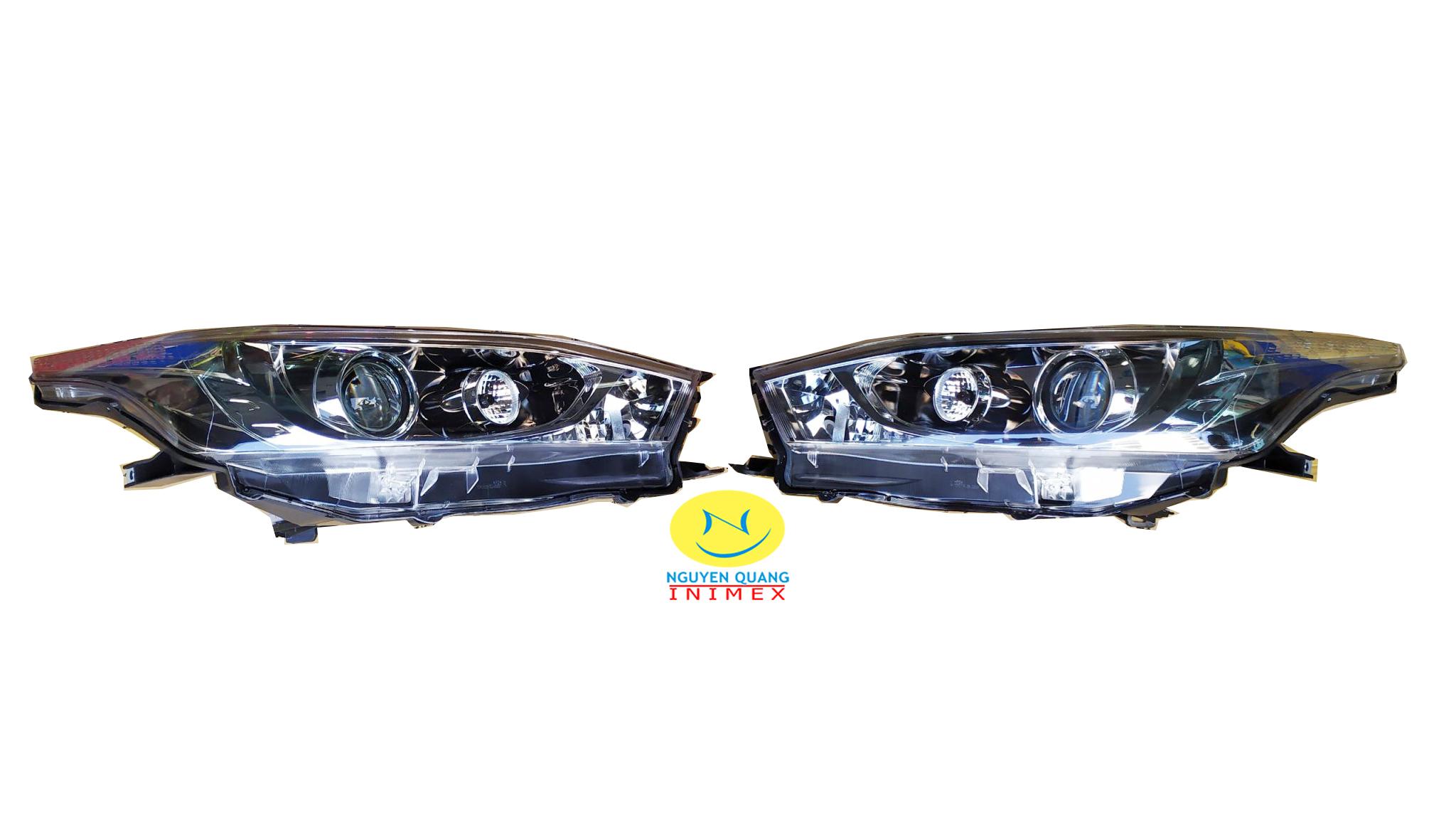 Đèn Pha Bi Toyota Yaris 2016