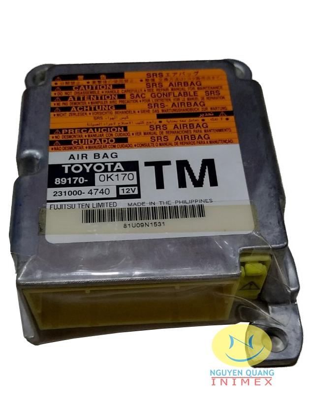 Hộp Điều Khiển Túi Khí Toyota Innova 2007-2014